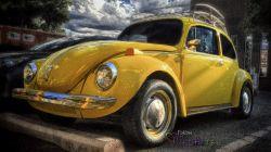 A Superbeetle Photo... Yellow VW Gumdrop